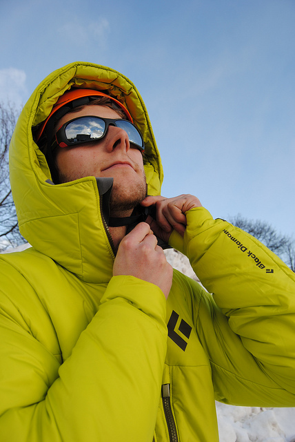 f8d6b5ecba4 Black Diamond Stance Belay Parka- Be Cold No More! – Michigan Ice Fest