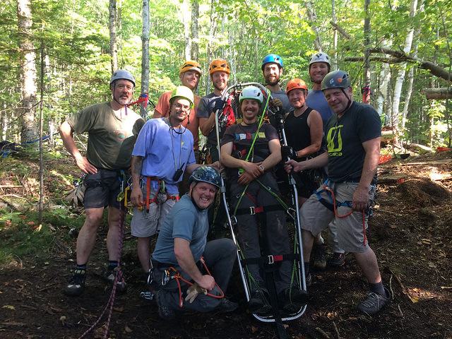Munising Now Has A High Angle Rope Rescue Team!