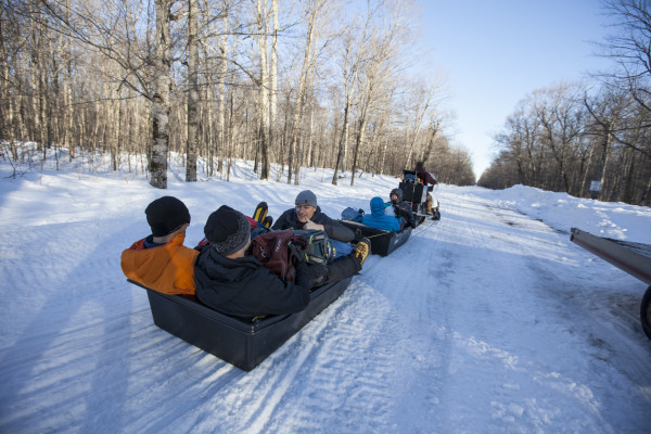 Snowmobile Shuttles Available