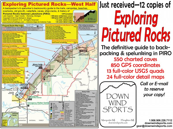 New Guide To Pictured Rocks Released!
