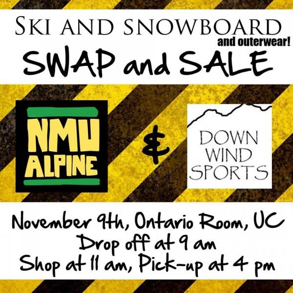 NMU and DWS Ski Swap!