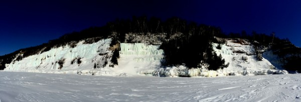 West Shore ice formations- Grand Island