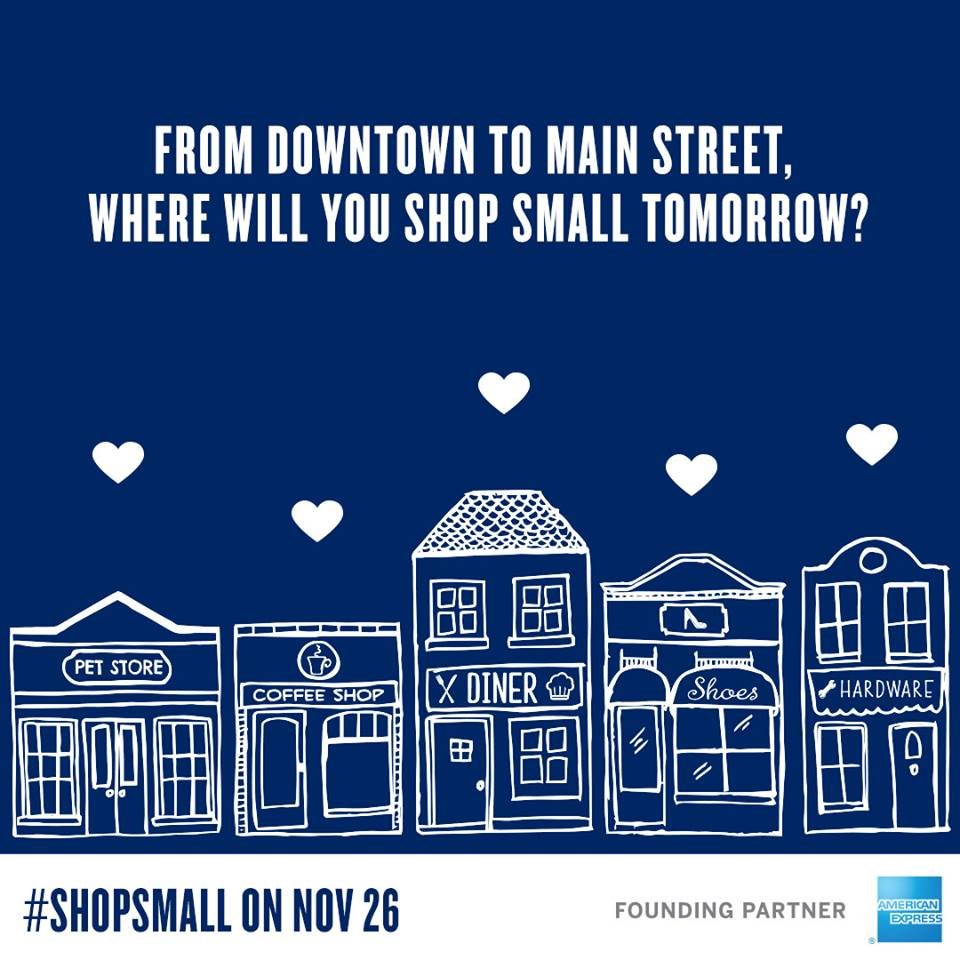 Shop Small Business Saturday!