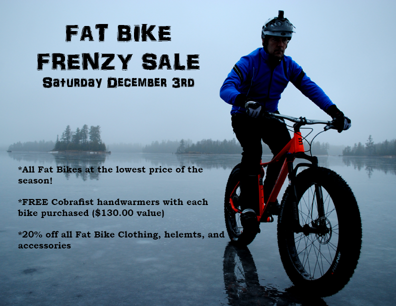 Fat Bike Frenzy Sale This Saturday!