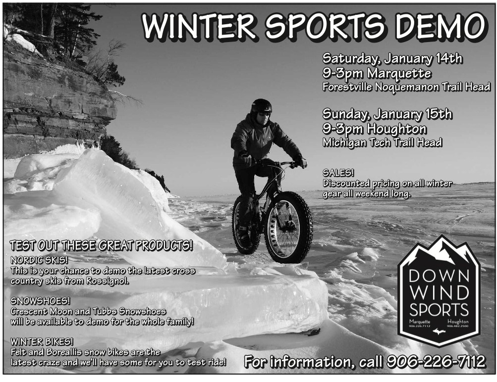 Winter Sports Demo Saturday!