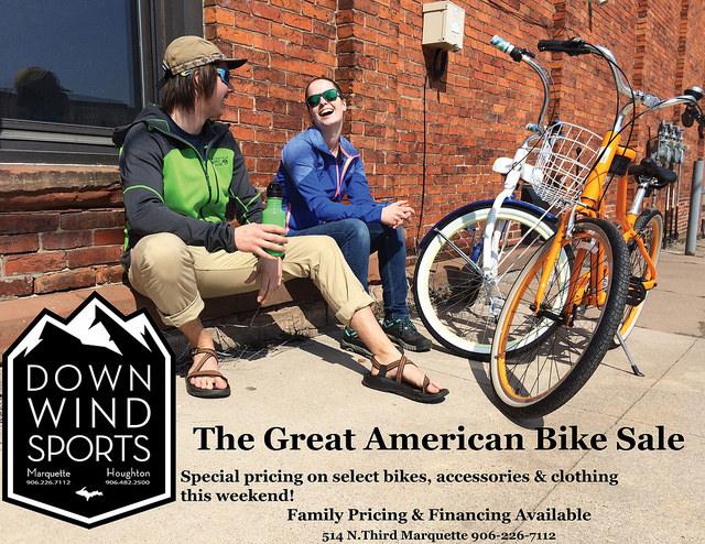 Great American Bike Sale Saturday!