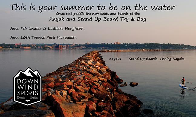Kayak and SUP Try & Buy!