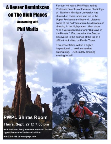 Rock Climbing Presentation!