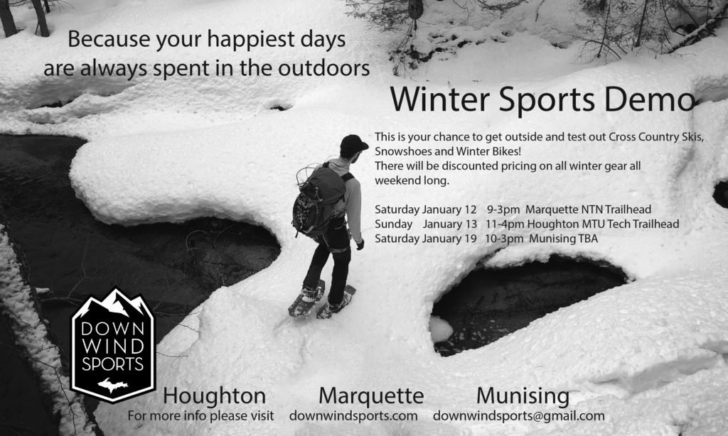 Winter Sports Demo This Weekend!